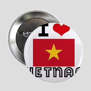 """I HEART VIETNAM FLAG 2.25"""" Button"""