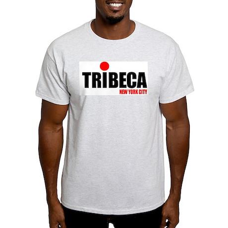 TRIBECA NYC Ash Grey T-Shirt