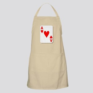 Ace of Hearts Playing Card Apron