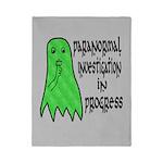 Paranormal Investigation in Progress Twin Duvet
