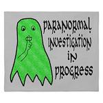 Paranormal Investigation in Progress King Duvet