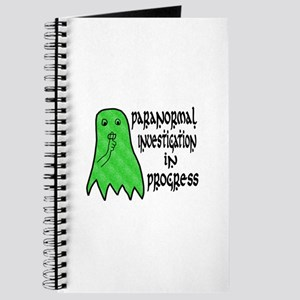 Paranormal Investigation in Progress Journal