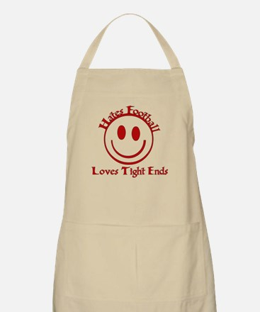 Hates Football Loves Tight Ends Apron