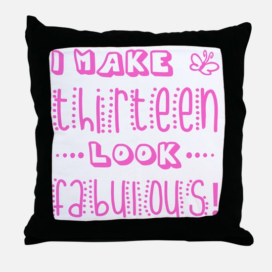 Cute Funny birthday Throw Pillow