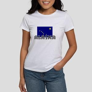 I HEART ALASKA FLAG T-Shirt