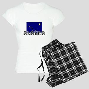 I HEART ALASKA FLAG Pajamas