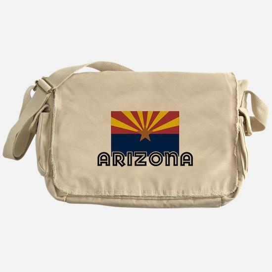 I HEART ARIZONA FLAG Messenger Bag