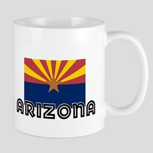 I HEART ARIZONA FLAG Mug