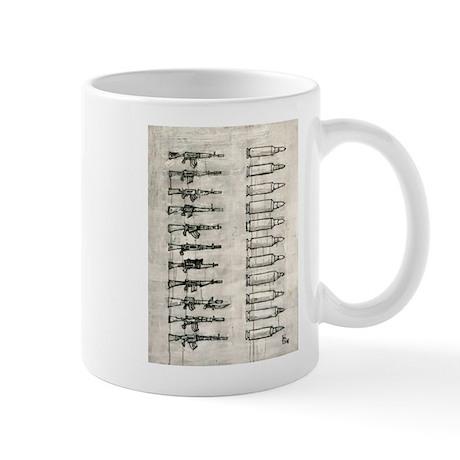 Rifles and Bullets Mug