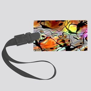 Eerie Abstract SB Luggage Tag