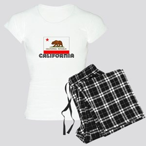 I HEART CALIFORNIA FLAG Pajamas