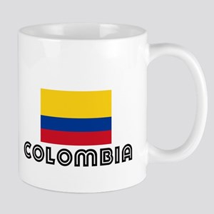I HEART COLOMBIA FLAG Mug