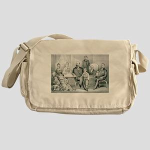 The Garfield family - 1882 Messenger Bag