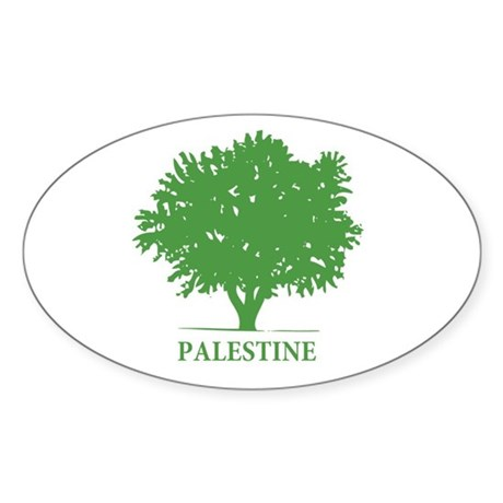 Palestine olive tree Sticker