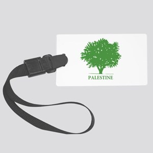 Palestine olive tree Luggage Tag