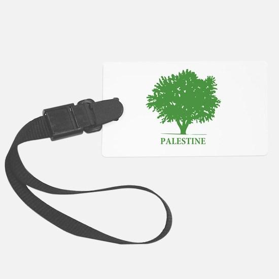 Palestine olive tree Luggage Tag