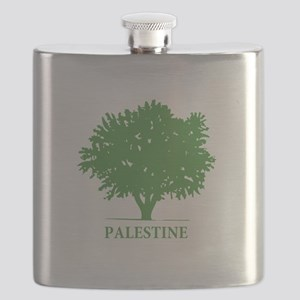 Palestine olive tree Flask