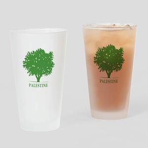 Palestine olive tree Drinking Glass