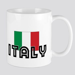 I HEART ITALY FLAG Mug