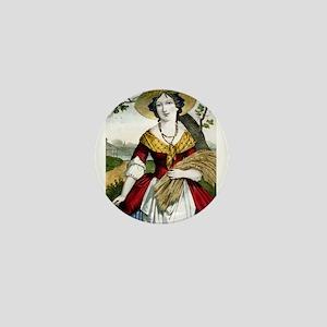 The farmers daughter - 1900 Mini Button