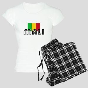 I HEART MALI FLAG Pajamas