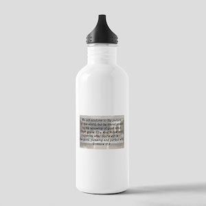 Romans 12:2 Water Bottle