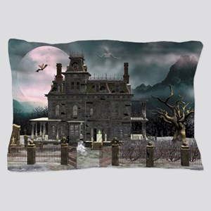 Haunted House 1 Pillow Case