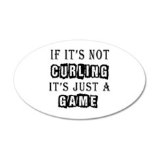 Curling Designs Wall Decal
