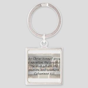 Ephesians 4:11 Keychains