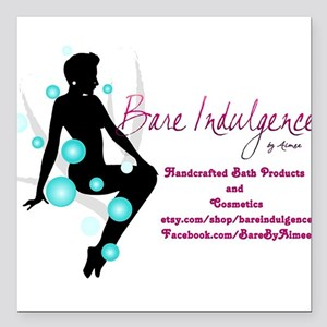 Bare Indulgence with Contact Information Square Ca