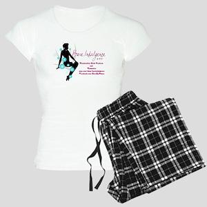 Bare Indulgence with Contact Information Pajamas