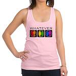 Rainbow Whatever Racerback Tank Top