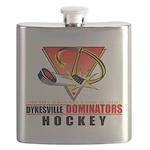 Dykesville Hockey Flask