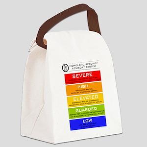 homolandsecurity Canvas Lunch Bag