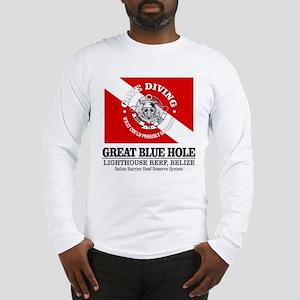 Great Blue Hole Long Sleeve T-Shirt