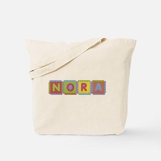 Nora Foam Squares Tote Bag