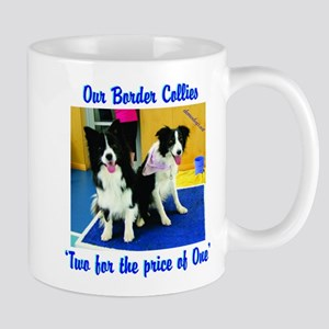 Our Border Collies, Two for the Price of One Mug