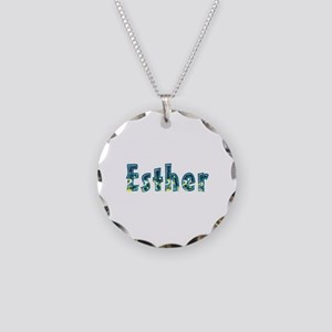 Esther Under Sea Necklace Circle Charm