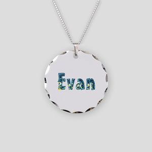Evan Under Sea Necklace Circle Charm
