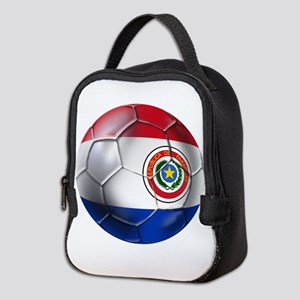 Paraguay Football Neoprene Lunch Bag
