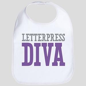 Letterpress DIVA Bib
