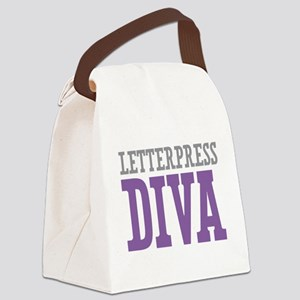 Letterpress DIVA Canvas Lunch Bag
