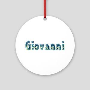 Giovanni Under Sea Round Ornament