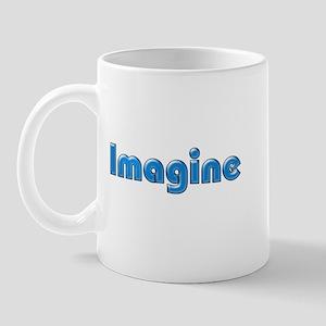 Imagine Blue Mug