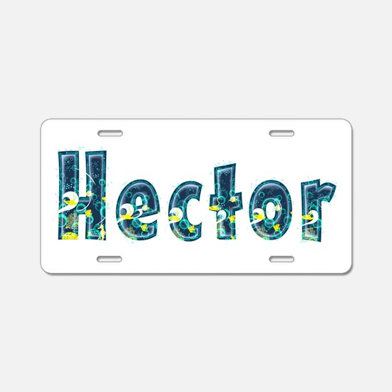Hector Under Sea Aluminum License Plate