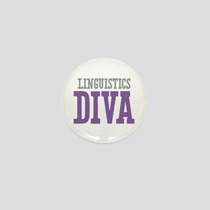Linguistics DIVA Mini Button