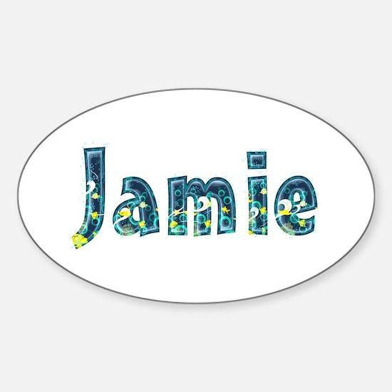 Jamie Under Sea Oval Decal