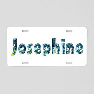 Josephine Under Sea Aluminum License Plate