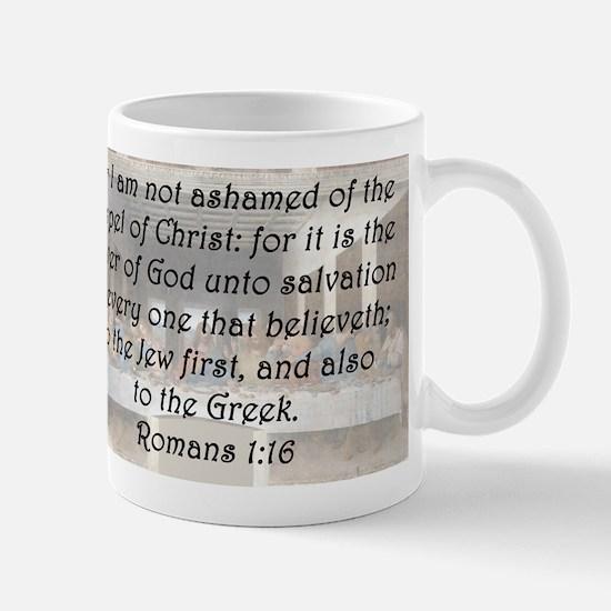Romans 1:16 Mug