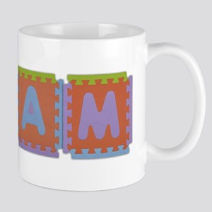 Liam Foam Squares Mug